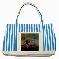 CORROSION 1 Striped Blue Tote Bag