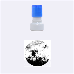 CORROSION 1 Rubber Round Stamps (Small)