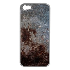 CORROSION 1 Apple iPhone 5 Case (Silver)
