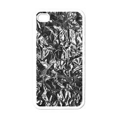 ALUMINUM FOIL Apple iPhone 4 Case (White)