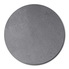 GREY SUEDE Round Mousepads