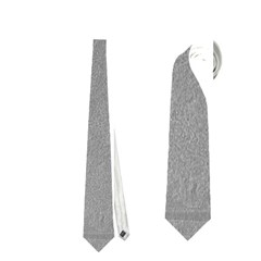 GREY SUEDE Neckties (One Side)