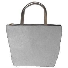 GREY SUEDE Bucket Bags