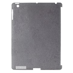 GREY SUEDE Apple iPad 3/4 Hardshell Case (Compatible with Smart Cover)
