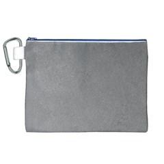 GREY SUEDE Canvas Cosmetic Bag (XL)