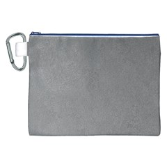 GREY SUEDE Canvas Cosmetic Bag (XXL)