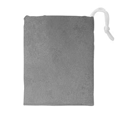 GREY SUEDE Drawstring Pouches (Extra Large)
