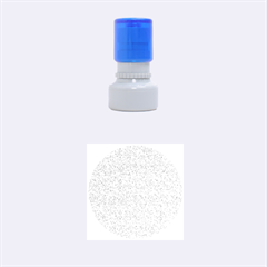 DENIM Rubber Round Stamps (Small)