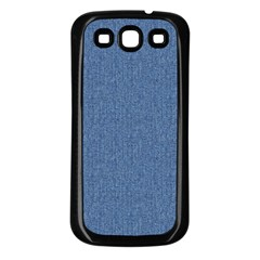 DENIM Samsung Galaxy S3 Back Case (Black)