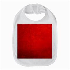 CRUSHED RED VELVET Bib