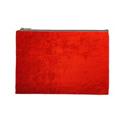 CRUSHED RED VELVET Cosmetic Bag (Large)