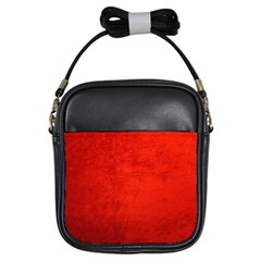 CRUSHED RED VELVET Girls Sling Bags