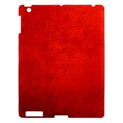 CRUSHED RED VELVET Apple iPad 3/4 Hardshell Case