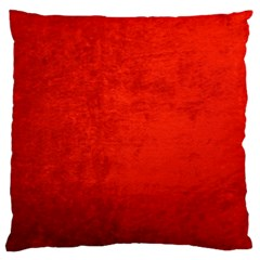 CRUSHED RED VELVET Large Cushion Cases (One Side)
