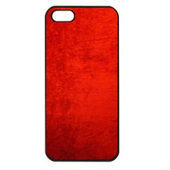 CRUSHED RED VELVET Apple iPhone 5 Seamless Case (Black)