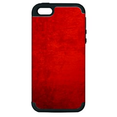 CRUSHED RED VELVET Apple iPhone 5 Hardshell Case (PC+Silicone)