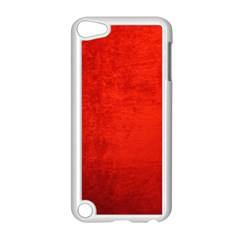 CRUSHED RED VELVET Apple iPod Touch 5 Case (White)