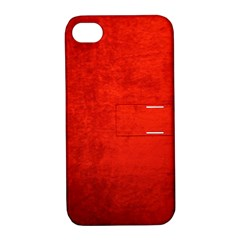 CRUSHED RED VELVET Apple iPhone 4/4S Hardshell Case with Stand