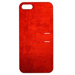 CRUSHED RED VELVET Apple iPhone 5 Hardshell Case with Stand