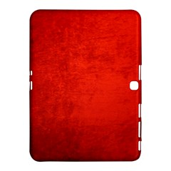 CRUSHED RED VELVET Samsung Galaxy Tab 4 (10.1 ) Hardshell Case