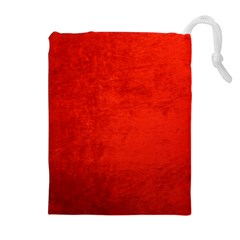 CRUSHED RED VELVET Drawstring Pouches (Extra Large)