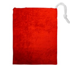 CRUSHED RED VELVET Drawstring Pouches (XXL)