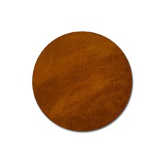 BRUSHED SUEDE TEXTURE Magnet 3  (Round)