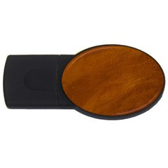BRUSHED SUEDE TEXTURE USB Flash Drive Oval (4 GB)