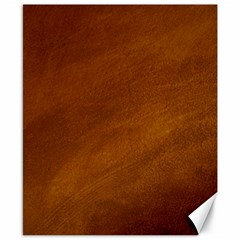 BRUSHED SUEDE TEXTURE Canvas 8  x 10