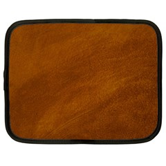 Brushed Suede Texture Netbook Case (xxl)