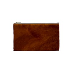 BRUSHED SUEDE TEXTURE Cosmetic Bag (Small)