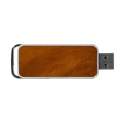 BRUSHED SUEDE TEXTURE Portable USB Flash (Two Sides)