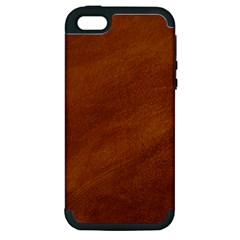 BRUSHED SUEDE TEXTURE Apple iPhone 5 Hardshell Case (PC+Silicone)