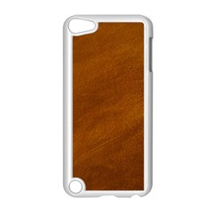 BRUSHED SUEDE TEXTURE Apple iPod Touch 5 Case (White)