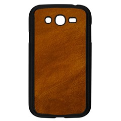 BRUSHED SUEDE TEXTURE Samsung Galaxy Grand DUOS I9082 Case (Black)