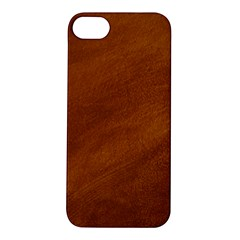 BRUSHED SUEDE TEXTURE Apple iPhone 5S Hardshell Case