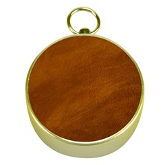 BRUSHED SUEDE TEXTURE Gold Compasses