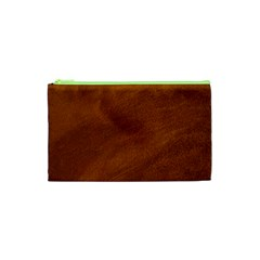 BRUSHED SUEDE TEXTURE Cosmetic Bag (XS)