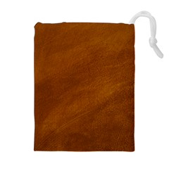 BRUSHED SUEDE TEXTURE Drawstring Pouches (Extra Large)