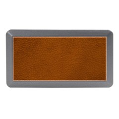 BROWN LEATHER Memory Card Reader (Mini)