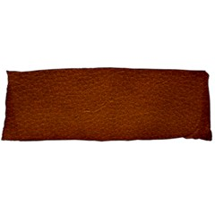 BROWN LEATHER Body Pillow Cases Dakimakura (Two Sides)
