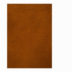 BROWN LEATHER Small Garden Flag (Two Sides)
