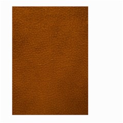 Brown Leather Large Garden Flag (two Sides)