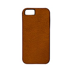 BROWN LEATHER Apple iPhone 5 Classic Hardshell Case (PC+Silicone)