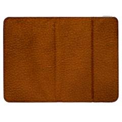 BROWN LEATHER Samsung Galaxy Tab 7  P1000 Flip Case