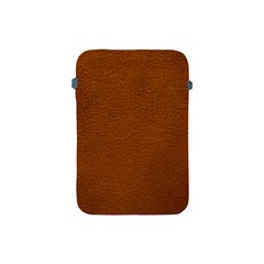 BROWN LEATHER Apple iPad Mini Protective Soft Cases