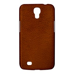BROWN LEATHER Samsung Galaxy Mega 6.3  I9200 Hardshell Case