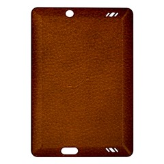 BROWN LEATHER Kindle Fire HD (2013) Hardshell Case