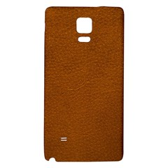BROWN LEATHER Galaxy Note 4 Back Case