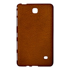 BROWN LEATHER Samsung Galaxy Tab 4 (7 ) Hardshell Case